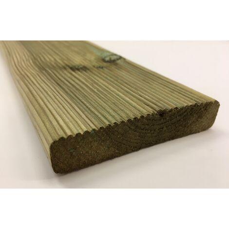Pavimento decking da esterno legno pino impregnato in autoclave mm ...