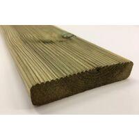 Pavimento decking da esterno legno pino impregnato in autoclave mm 27x145x1000