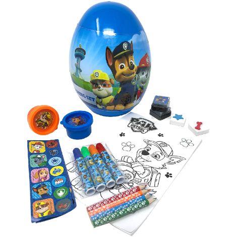 Paw Patrol Childrens/Kids Egg Shaped Stationery Set (One Size) (Blue)