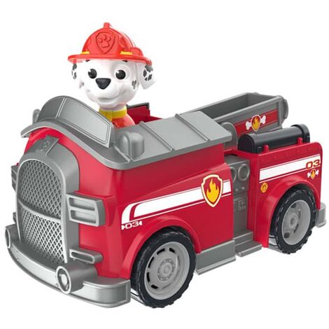 Paw Patrol Coche de juguete con radiocontrol Marshall Fire Truck