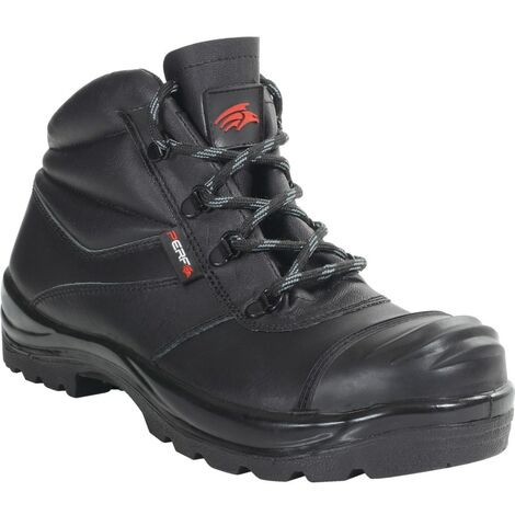 PB17C Black Chukka Safety Boots
