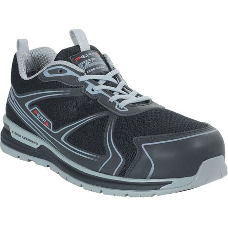 PB220 Gravity Five Black/Grey Safety Trainers