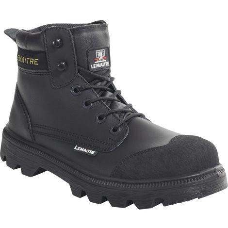 PB248C Stockton Parabolic Black Derby Safety Boots