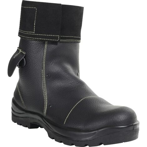 PB25 Mid Leg Black Foundry Safety Boots