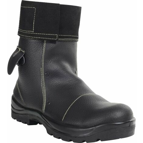 PB25 Mid Leg Black Foundry Safety Boots