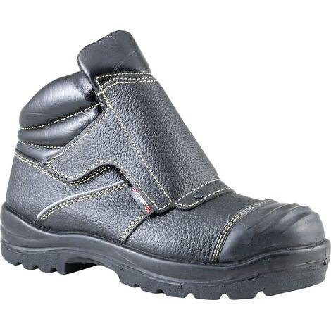 PB94C Men's Black Welders Safety Boots