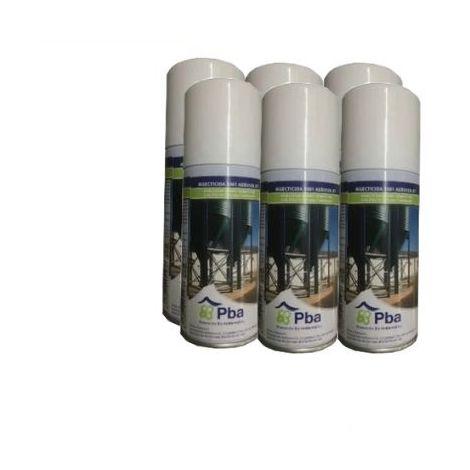 PBA Insecticida, Ovicida, Larvicida y Acaricida 1001 DT Aerosol Descarga Total contra Insectos Rastreros y Voladores - Pack ahorro 6 x 100ml