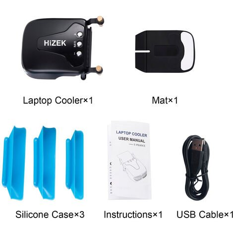 PC Cooler Portable Extractor Air USB High Performance Fan Mohoo