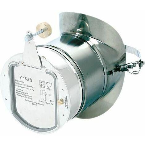 Pc de raccordement AZ 150 inox version collerette avec fermeture rapide