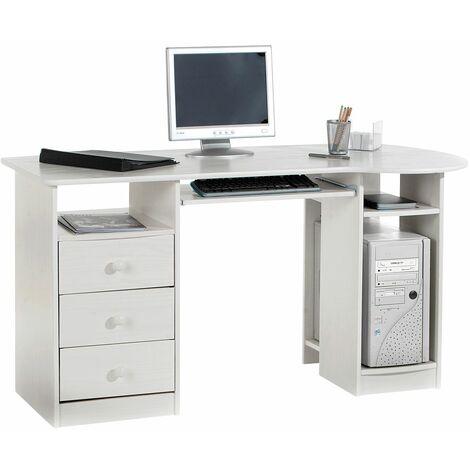 PC-Schreibtisch BOB in der Farbe wei