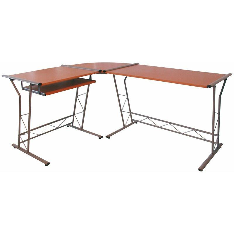 Dema - Tisch 100x75cm Computertisch Schreibtisch Eckschreibtisch Bürotisch Arbeitstisch