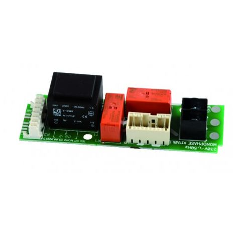 PCB with single phase power supply (green) - ATLANTIC : 099110