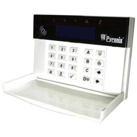 PCX LCDP PYRONIX anti-theft alarm system home keypad LCD with proximity reader for Enforcer 32-WE APP