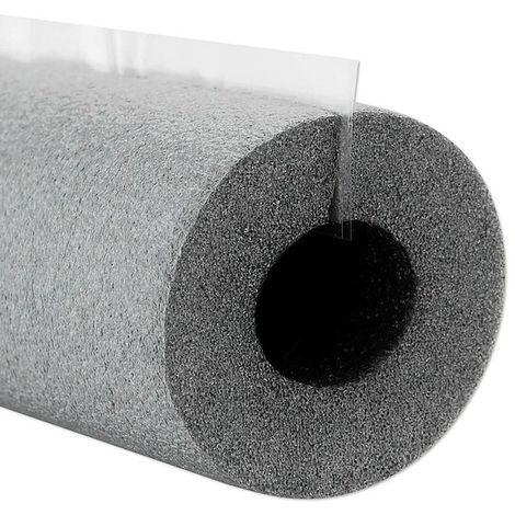 PE-Isolierschlauch für Rohr 16 - 18 mm - Dämmschichtdicke 13 mm - selbstklebend - Länge 1 m - 50% EnEV
