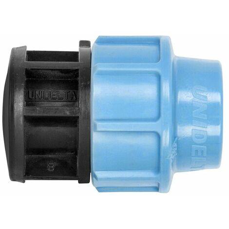 PE Rohr Verschraubung Schraubfitting Endkappe 40mm für Hauswasserleitung oder Gartenbewässerung