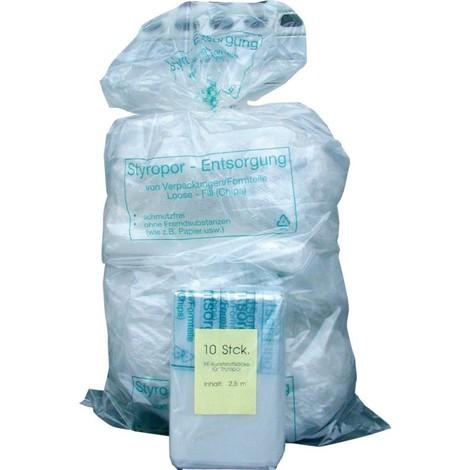PE-sac a soufflet transparent 2500l pour mousse (VE10)