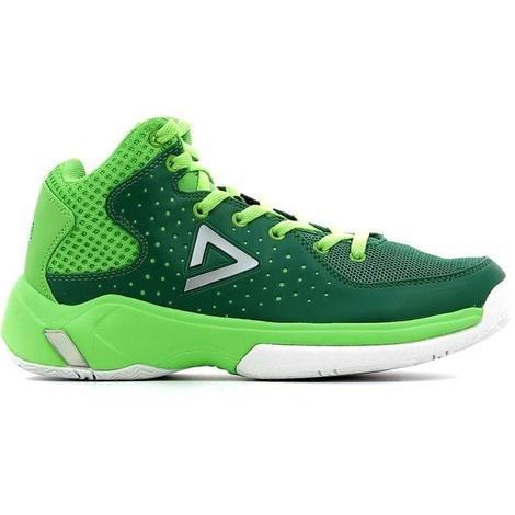 61efde02f9694 PEAK Chaussures de Basket Thunder - Enfant - Vert - 36 - 612470