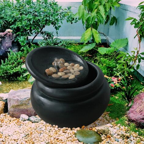 Peaktop Garden Water Fountain | Outdoor Garden Pot Waterfall Feature FI0031AA-UK