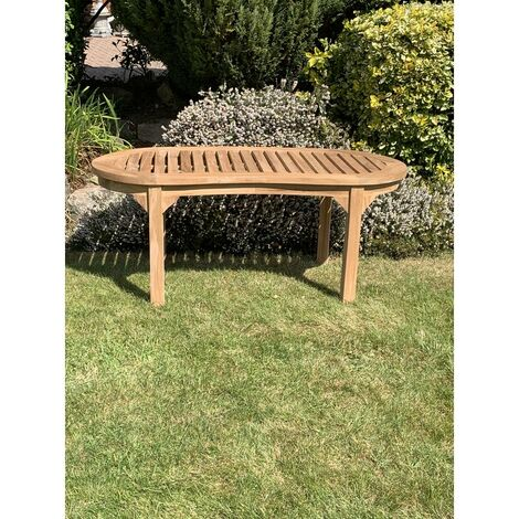 Peanut Teak Garden Coffee Table