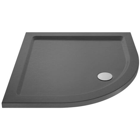Pearlstone Slate Grey Quadrant Shower Tray 900mm x 900mm x 40mm