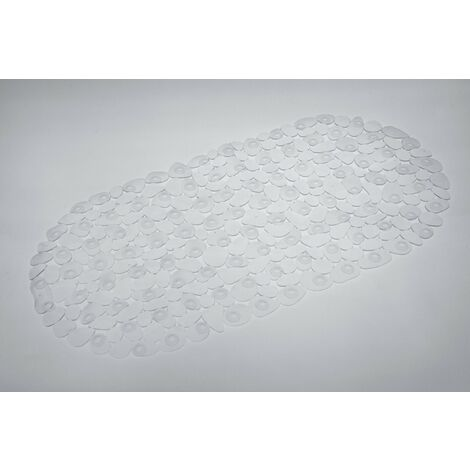 Pebble PVC Bath Mat - Clear 360mm x 690mm