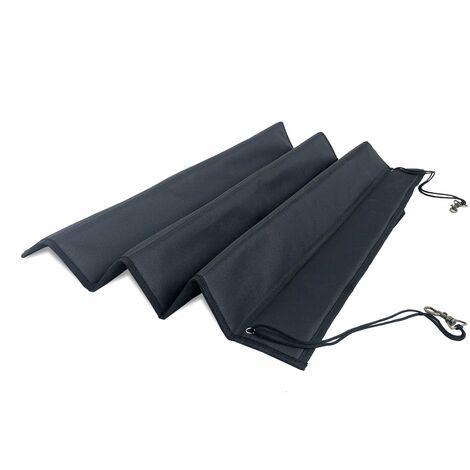 Pecute Housse de Siège pour Chien 100% Imperméable, Couverture Protection de Banquette Arrière pour Voiture et SUV(80 x 64cm,Noir)