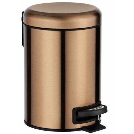 Pedal bin Leman Metallic copper WENKO