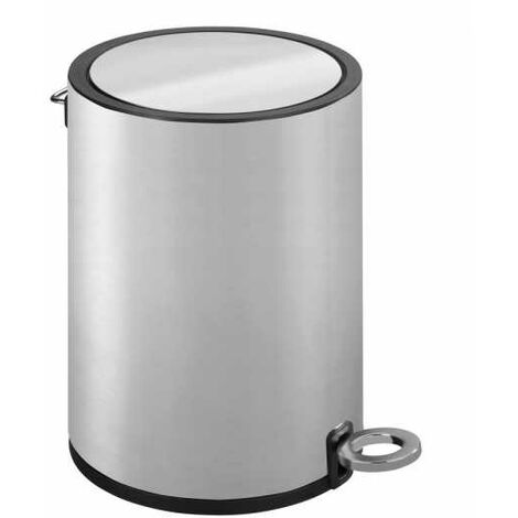 Pedal bin Monza Easy-Close stainless steel satinised WENKO