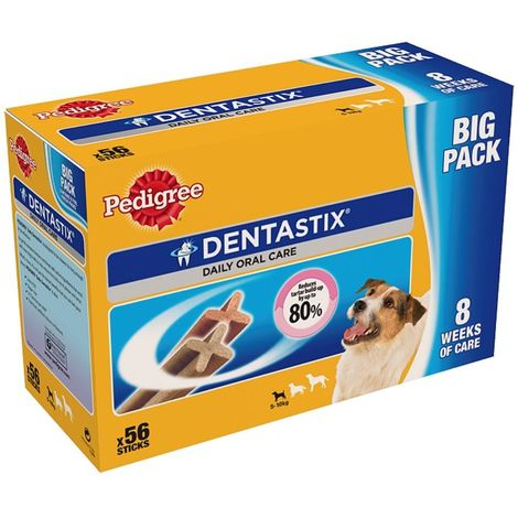 Pedigree Dentastix For Small Dogs (56 Pack) (One Size) (May Vary)