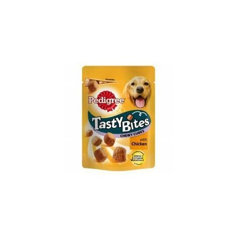 Pedigree Tasty Bites Chewy Cubes with Chicken (86828)