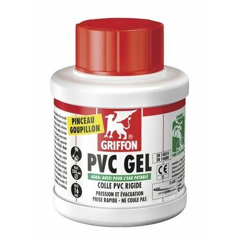Pegamento gel pvc agua - GRIFFON : 6140214