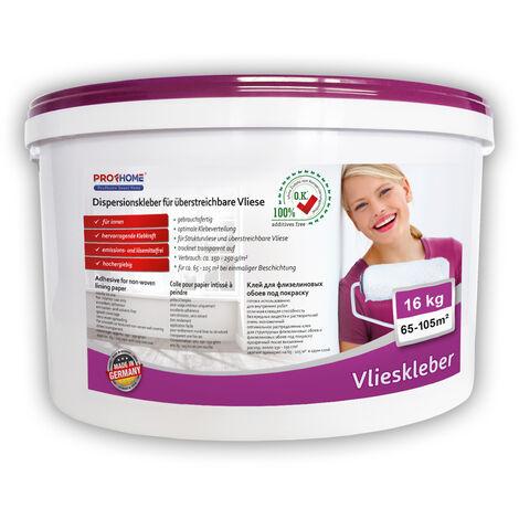 Pegamento listo para usar PROFHOME 300-13 adhesivo para superficies murales pegamento para no tejidos 16 kg para max. 105 m2