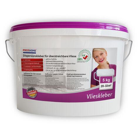 Pegamento listo para usar PROFHOME 300-14 adhesivo para superficies murales pegamento para no tejidos 5 kg para max. 33 m2