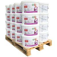 Pegamento listo para usar PROFHOME adhesivo para superficies murales pegamento para no tejidos 1 paleta 32 cubos 512 kg