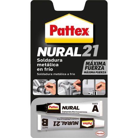 Pegamento Nural 21 soldadura repar en frío 22 ml