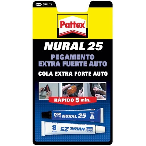 Pegamento Transparente - PATTEX NURAL 25 - 1674459 - 22 ML