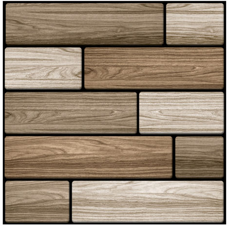 Pegatina de decoracion de azulejos impermeables para ba?o, 30*30cm, 505#