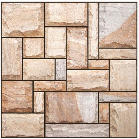 Pegatina de decoracion de azulejos impermeables para ba?o, 30*30cm, 511#