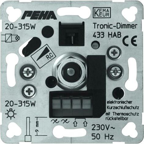 PEHA by Honeywell 1 pezzo Frutto Varialuce PEHA Alluminio D 433 HAB O.A.