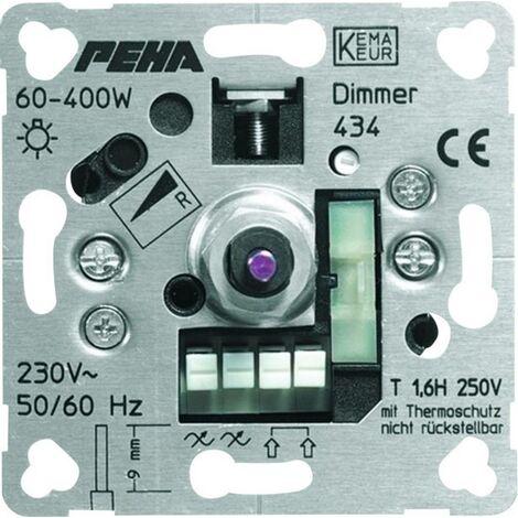 PEHA by Honeywell 1 Stück Einsatz Dimmer PEHA Aluminium D 434 O.A A215461