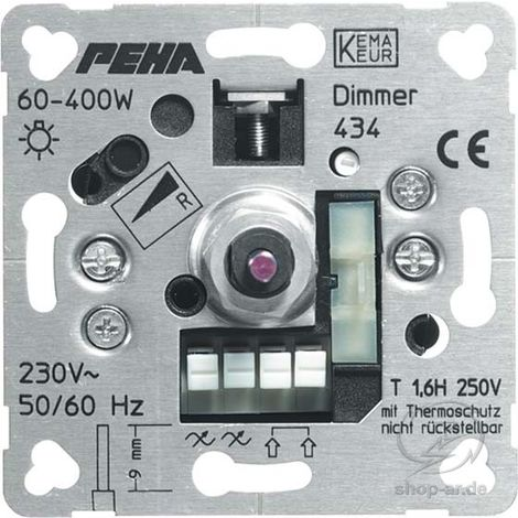 PEHA Phasenanschnittdimmer 60-600W D 436 o.A.