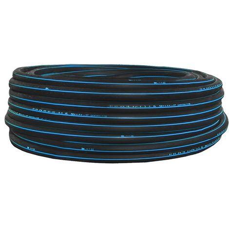 PEHD bande bleue D50-16B-50 ml de - Tube polyéthylène - Catégorie Tube polyéthylène