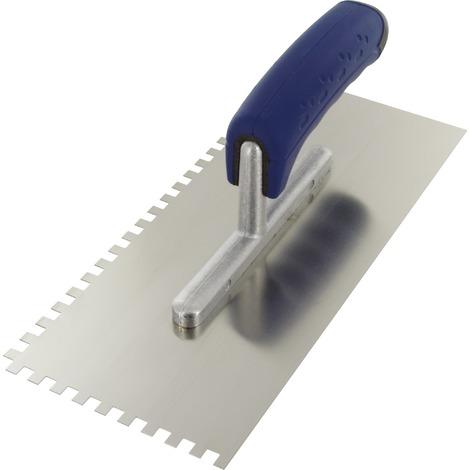 Peigne à colle lame acier inoxydable dentée sur deux côtés Outibat