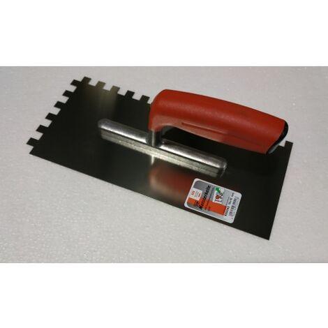 """main image of """"Peigne à colle TOPLINE en métal Dentée 10 x 10 mm"""""""