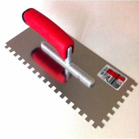 """main image of """"Peigne à colle TOPLINE en métal Dentée 8 x 8 mm"""""""