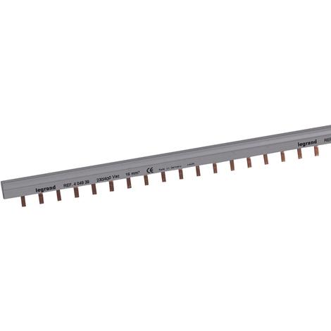 Peigne d'alimentation HX³ - 2P - pour bornes à vis - longueur au mètre - 28 mod