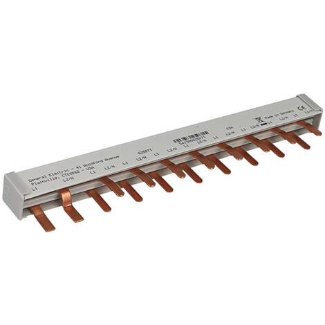 Peigne d'alimentation pour interrupteur différentiel GE 63A