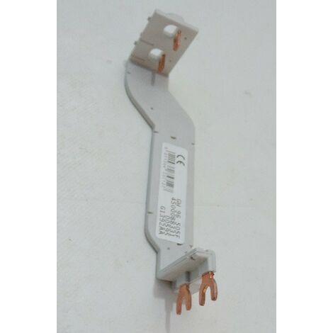 Peigne d'alimentation raccordement verticale pour coffret 2 rangées entraxe 125mm FIXMATIC GEWISS GW96505F
