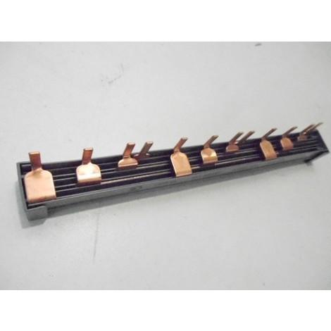 Peigne d'alimentation tetrapolaire 4P à dent 12 modules (3 appareils) section 10mm2 LEGRAND 404944