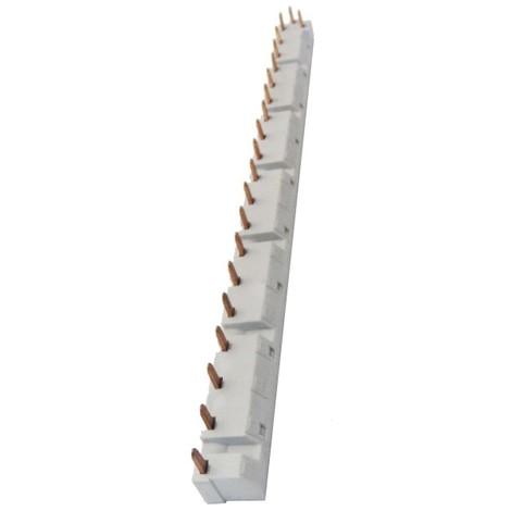 Peigne d'alimentation tripolaire tête Trident 1 rangée 6 appareils 3P maxi LEGRAND 004957